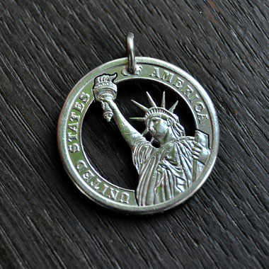 Münzsägewerk Katrin Thull | USA - Freiheitsstatue