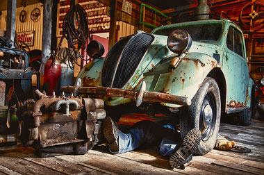 Werkstatt Dads Garage zum Schrauben