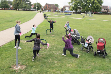 Buggy Fitness Session