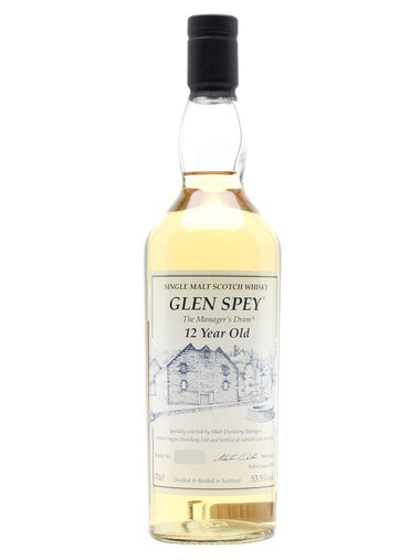 "Glen Spey Single Malt 12 Jahre ""Manager's Dram"""