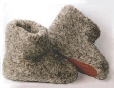 warme Füße mit Schafwolle