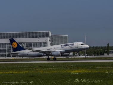 Lufthansa D-AIUT Airbus A320-200