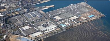 usine nissan Kyushu Japon
