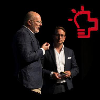 Menschen bei Swiss Innovation Day 2018