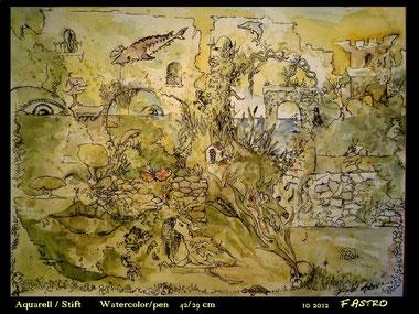 Psycotic landscape pt.267 2012 sold