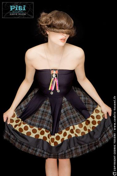 PITI Bijoux by Cendrillon , Makeup : Carole Petrigno