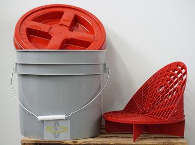 Grid Guard Wascheimer / Sieb / Washboard