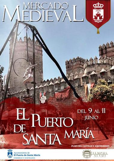 Programa del Mercado Medieval en el Puerto de Santa María