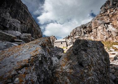 Fotoreise Wales, Chapel im Felsen