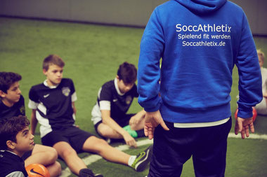 Fußball Athletiktrainer Athletiktraining Du bist der Coach SoccAthletix