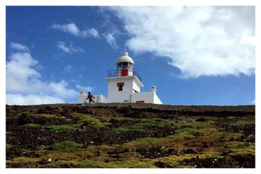 Leuchtturm Morro Negro auf Boa Vista auf der Farol und Muscheln Tour mit Boa Vista Tours