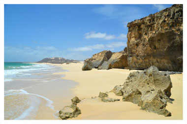 Sonne, Sand, Meer, Strand, Dünen, Sandboarding, Schlitten fahren, Morro de Areia, Cabo Santa Maria, Beachbar, Perola de Chaves