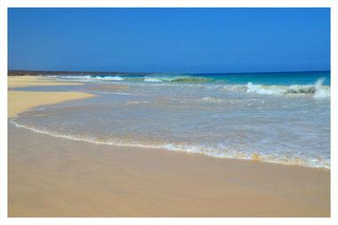 Praia Santa Mónica auf Boa Vista auf der großen Boa Vista Exclusiv Tour mit Boa Vista Tours