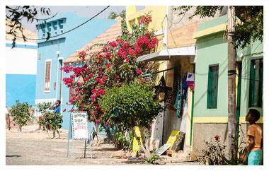 Ortschaft Fundo dos Figueiras auf Boa Vista auf der Farol und Muscheln Tour mit Boa Vista Tours