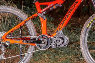 Il motore bicicleta ORBEA
