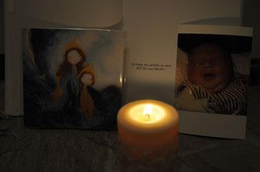 """...ein Auszug von meinem """"Geburts-Altar"""""""