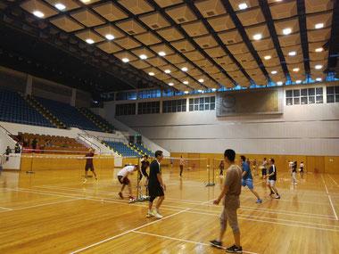 中国 留学 中国語 上海 華東師範大学 シニア留学 夏期講座 体育館   キャンパス