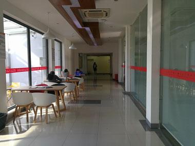 中国上海 華東師範大学 学生寮「2号楼」
