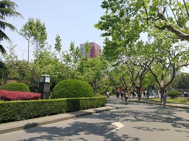 中国上海 華東師範大学 ガーデニングキャンパス