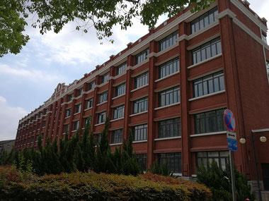 中国 留学 中国語 上海 華東師範大学 シニア留学 夏期講座 アクセス方法 キャンパス 国際漢語教育楼