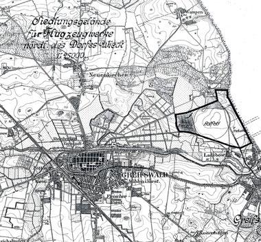 Lageplan 1927