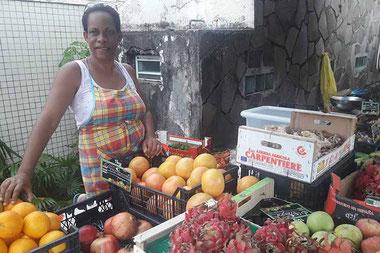 Marché aux fruits Guadeloupe