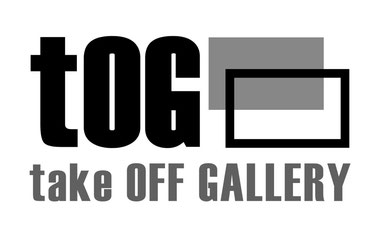 Logog der tOG, take OFF GALLERY