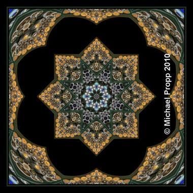 Mandala-Knöpfe