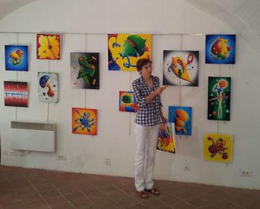 Exposition à la Maison des AcsTistes des Arcs sur Argens (Var)