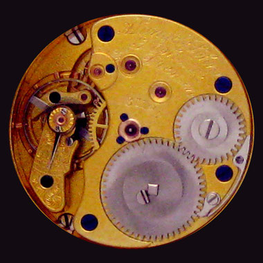 11 Liniges Damentaschen-Uhrwerk Kaliber 25 ALS in 1b Qualität