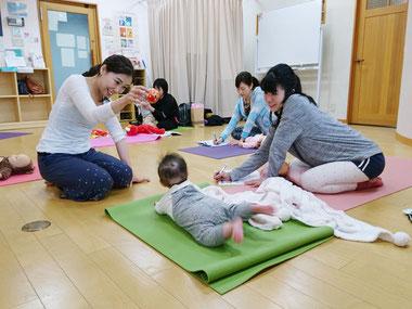 赤ちゃん連れで養成講座