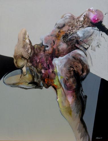 Acrylique sur toile dim 117cmx90cm