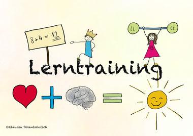 Lerntraining, Legasthenie, Dyskalkulie, Lernschwäche, Konzentration, Motivation, Lerntherapie