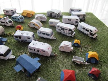 Campingfahrzeuge Spur N (1:160) - bei Interesse auf Bild klicken
