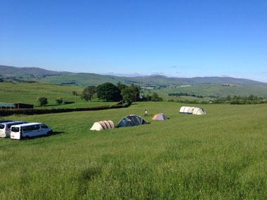 Foto: Learn on the Fly reis Schotland en Wales 2015. Ben jij klaar voor het kamperen?