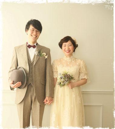 結婚写真 レトロ