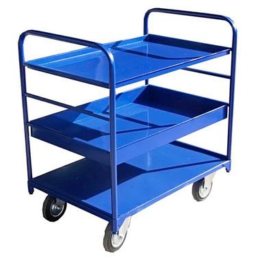 Платформенные грузовые тележки. Серия ТЯ