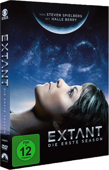 Extant Serie - Halle Berry - Paramount - kulturmaterial - DVD Box