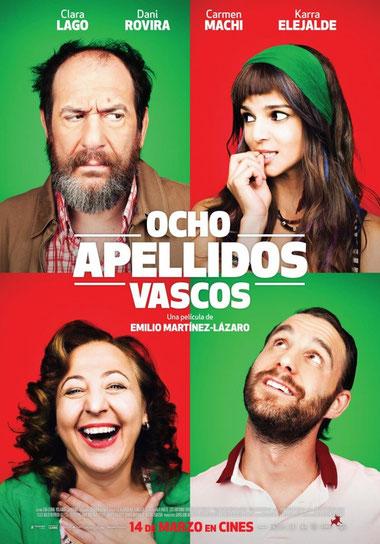 """""""Ocho apellidos vascos"""", la película más taquillera de 2014"""