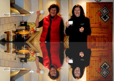 Zuständig für Speis & Trank : Ilona & Ulli