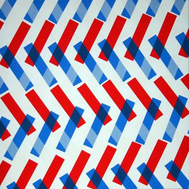 Bleu-blanc-rouge, dim. 93cm x 93cm, 2009
