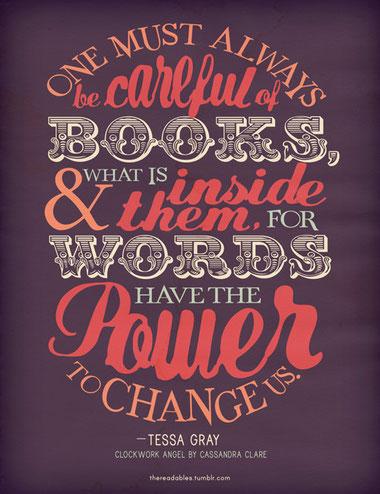 Las palabras tienen el poder de cambiarnos... o no.