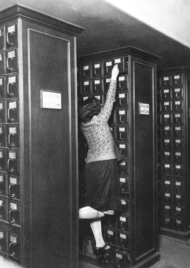El peligroso trabajo bibliotecario