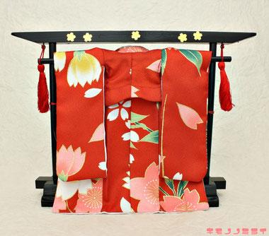 人形用衣桁、Japanese kimono hangar