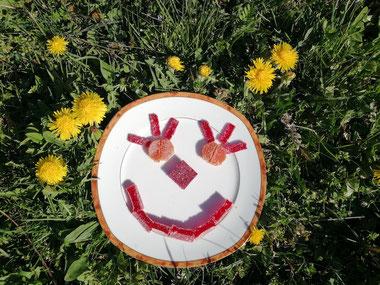 Confinez mais souriez ! Douceurs et couleurs pour 4 semaines:mangez des pâtes de fruits !!