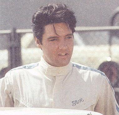 """Elvis in """"Speedway""""."""