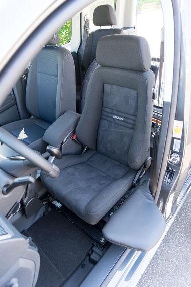 Volkswagen Caddy Orthopädischer Sitz