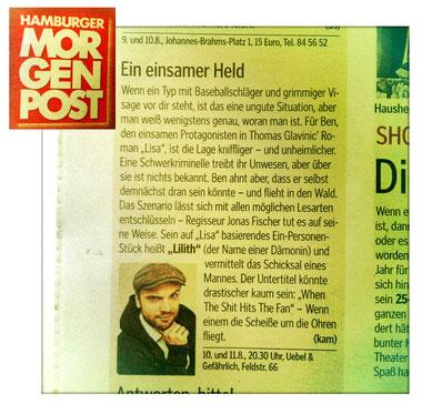 Hamburger Morgenpost, 08.08.13 (Foto falsch)