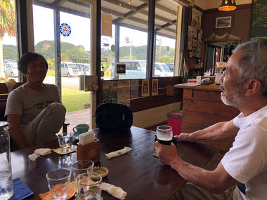 二日目のランチはおひさまでカレー&コーヒービールby BOSS。