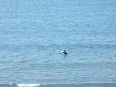 今日は海が澄んでで気持ちよかったはず。